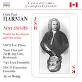 Album artwork for Chris Paul Harman: After JSB-RS
