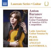 Album artwork for ANTON BARANOV - GUITAR RECITAL