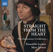 Album artwork for Straight from the Heart: The Chansonnier Cordiform