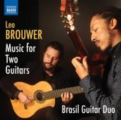 Album artwork for Brouwer: Music for Two Guitars