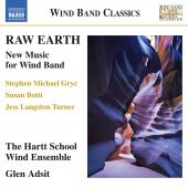 Album artwork for Raw Earth - New Music for Wind Band