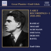 Album artwork for Emil Gilels: Early Recordings Vol. 1 (1935-1951)