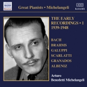 Album artwork for Arturo Benedetti Michelangeli: Early Recordings 1