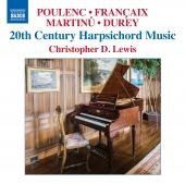 Album artwork for 20th Century Harpsichord Music