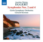 Album artwork for Eggert: Symphonies Nos. 2 & 4