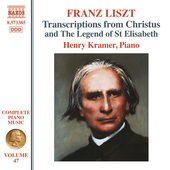 Album artwork for Liszt Complete Piano Music, Vol. 47