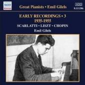 Album artwork for Emil Gilels: Early Recordings Vol. 3