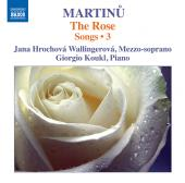 Album artwork for MARTINU: SONGS VOL. 3