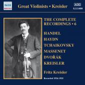 Album artwork for KREISLER: COMPLETE RECORDINGS VOL. 6