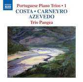 Album artwork for Portuguese Piano Trios, Vol. 1