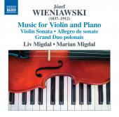 Album artwork for Józef & Henryk Wieniawski: Music for Violin & Pia