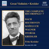 Album artwork for Kreisler: The Complete Recordings, Vol. 7 (1921-19