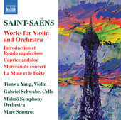 Album artwork for Saint-Saëns: Works for Violin & Orchestra