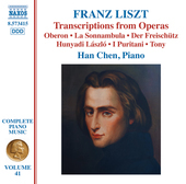 Album artwork for Liszt: Transcriptions from Operas