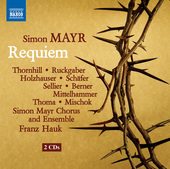 Album artwork for Mayr: Grande messa da requiem