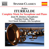 Album artwork for Iturralde: Complete Music for Saxophone & Piano
