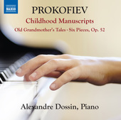 Album artwork for Prokofiev: Childhood Manuscripts