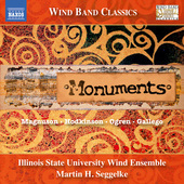 Album artwork for Monuments / Wind Band Classics