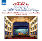 Album artwork for Cimarosa: Overtures, Vol. 4