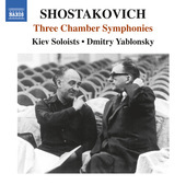 Album artwork for Shostakovich: 3 Chamber Symphonies