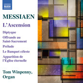 Album artwork for Messiaen: L'Ascension