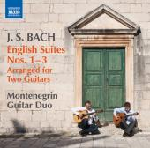 Album artwork for Bach: English Suites 1-3 (arr. for two guitars)