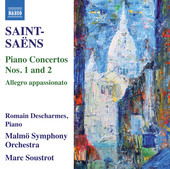 Album artwork for Saint-Saëns: Piano Concertos Nos. 1 & 2
