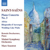 Album artwork for Saint-Saëns: Piano Concertos, Vol. 2