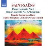 Album artwork for Saint-Saëns: Piano Concertos Nos. 4 & 5