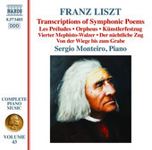 Album artwork for Liszt: Transcriptions of Symphonic Poems
