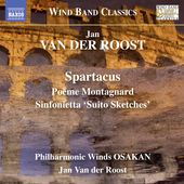 Album artwork for Jan Van der Roost: Music for Wind Band