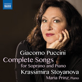 Album artwork for Puccini: Complete Songs for Soprano & Piano