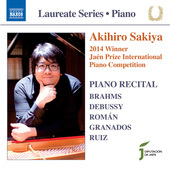 Album artwork for Brahms, Debussy, Román, Granados & Ruiz: Piano Wo