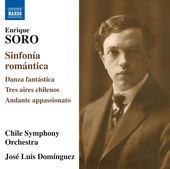 Album artwork for Soro: Sinfonía romántica