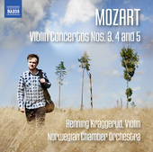 Album artwork for Mozart: Violin Concertos Nos. 3, 4 & 5