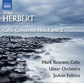 Album artwork for Herbert: Cello Concertos Nos. 1, 2, & Irish Rhapso