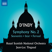 Album artwork for d'Indy: Symphony No. 2, Souvenirs, Istar & Fervaal
