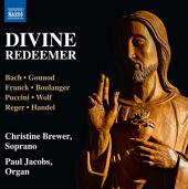 Album artwork for Divine Redeemer / Christine Brewer, Paul Jacobs