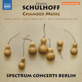 Album artwork for Schulhoff: Chamber Music