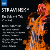 Album artwork for Stravinsky: The Soldier's Tale