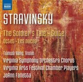 Album artwork for Stravinsky: The Soldier's Tale Suite, Octet & Les