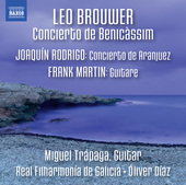 Album artwork for Brouwer: Concierto de Benicàssim - Rodrigo: Conci