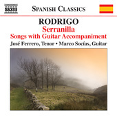Album artwork for Rodrigo: Serranilla - Songs with Guitar Accompanim