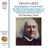 Album artwork for Liszt: Complete Piano Works, Vol. 44 – Transcrip