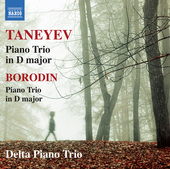 Album artwork for Taneyev: Piano Trio in D Major, Op. 22 - Borodin: