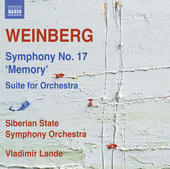 Album artwork for Weinberg: Symphony No. 17, Op. 137