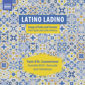 Album artwork for Latino Ladino: Songs of Exile & Passion