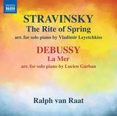 Album artwork for Stravinsky: The Rite of Spring (Arr. V. Leyetchkis