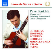 Album artwork for Guitar Recital: Pavel Kukhta
