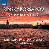 Album artwork for Rimsky-Korsakov: Symphonies Nos. 1 & 3